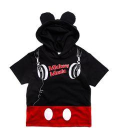 Camiseta-Infantil-com-Capuz---100--Algodao---Mickey-Mouse---Preto---Disney---2