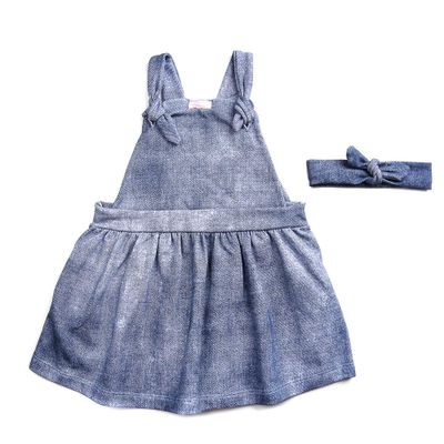 Jardineira-de-Moletom-Infantil---100--Algodao---Fake-Jeans---Branco---Minimi---1