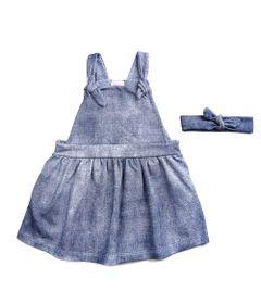 Jardineira-de-Moletom-Infantil---100--Algodao---Fake-Jeans---Branco---Minimi---3