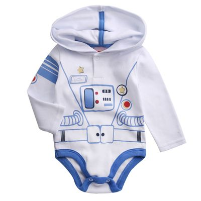 Body-Infantil---Manga-Longa---100--Algodao---Astronauta---Branco---Minimi---M