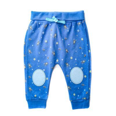 Calca-Infantil---100--Algodao---Estam-pada---Foguetes---Azul---Disney---P