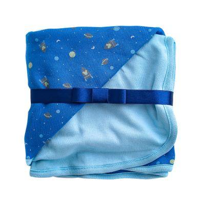 Manta-Estampada---100--Algodao---Foguete---Azul---Disney