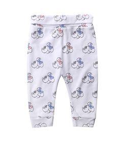 Calca-Infantil---100--Algodao---Estampada---Minnie-Mouse---Branco---Disney---M