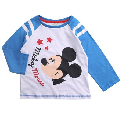 Camiseta-Reglan---Mickey-Mouse---100--Algodao---Branco---Disney---1