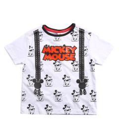 Camiseta-Infantil---Manga-Curta---100--Algodao---Mickey-Mouse---Branco---Disney---1