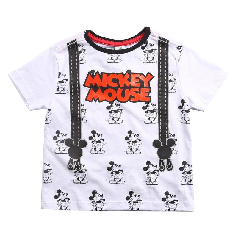 3fe5dea4db Camiseta Infantil - Manga Curta - 100% Algodão - Mickey Mouse ...