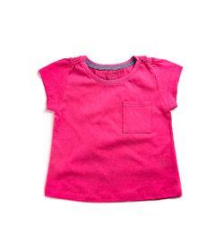 Blusa-Infantil---Manga-Curta---100--Algodao---Bolso-e-Glitter---Rosa-e-Cinza---Minimi---4