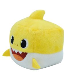 Pelucia---Baby-Shark---10cm---Amarelo---Cubo-Musical---Toyng