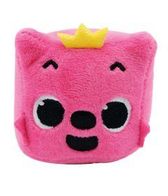 Pelucia---Baby-Shark---10cm---Raposa-Rosa---Cubo-Musical---Toyng