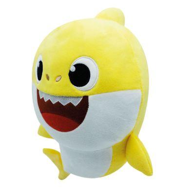 Pelucia---Baby-Shark---30cm---Amarelo---Musical---Toyng