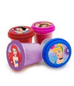 Conjunto-Areia-de-Modelar---Princesas-Disney---Quatro-Potes-com-Cores-Diferentes---Toyng