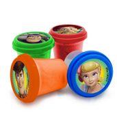 Conjunto-Areia-de-Modelar---Toy-Story-4---Quatro-Potes-com-Cores-Diferentes---Toyng