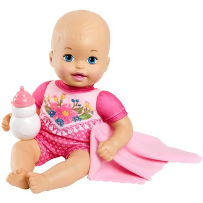 boneca-bebe-little-mommy-recem-nascido-bebe-faz-xixi-macacao-rosa-com-flores-mattel-FJL45-GBP22_Frente