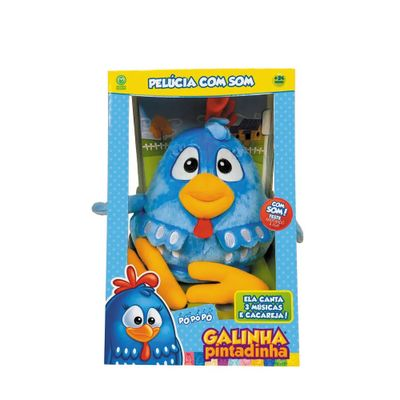 Pelucia-com-Sons-28-Cm-Galinha-Pintadinha-DTC-4994_frente