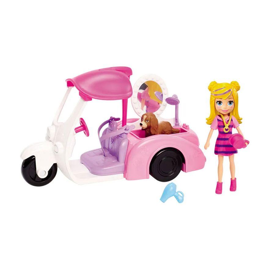 Veiculo-e-Boneca---Polly-Pocket---Polly-e-Motocicleta---Mattel_Frente