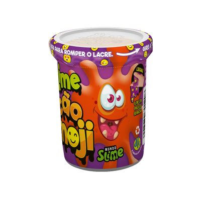 Pote-de-Slime-Ecao-Borrachinhas-Emoji-Laranja-DTC-5057_frente