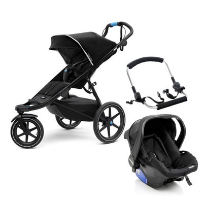 Travel-System-com-Suporte---Urban-Glide-2---Black---Thule