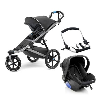 Travel-System-com-Suporte---Urban-Glide-2---Silver---Thule