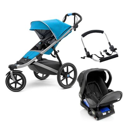 Travel-System-com-Suporte-e-Base---Urban-Glide-2---Blue---Thule
