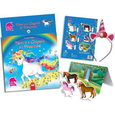 Livro-Brinquedo-com-Tiara-Vale-das-Letras-Unicornio-Primavera-Catavento-7898639840707_frente