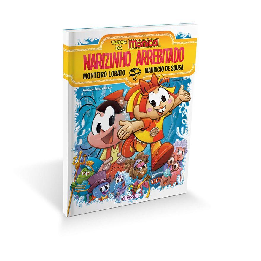 Livro-Infantil-Turma-da-Monica-e-Narizinho-Arrebitado-Catavento-9788539404445_detalhe1