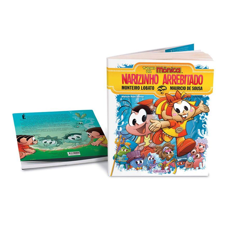 Livro-Infantil-Turma-da-Monica-e-Narizinho-Arrebitado-Catavento-9788539404445_detalhe2