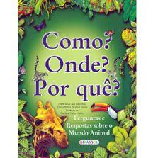 Livro-Infantil-Perguntas-Sobre-o-Reino-Animal-Como-Onde-e-Por-que-Catavento-9788574886305_frente