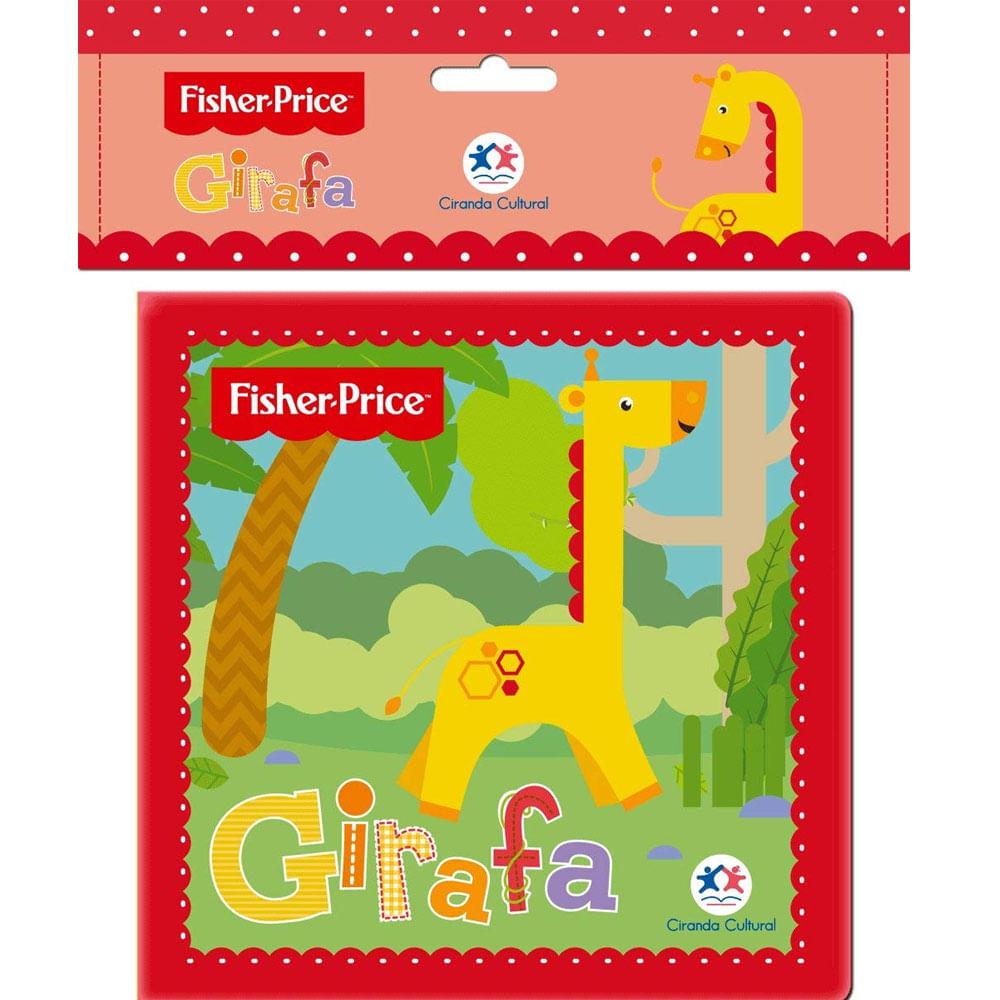 Livro De Banho - Girafa - Fisher-Price