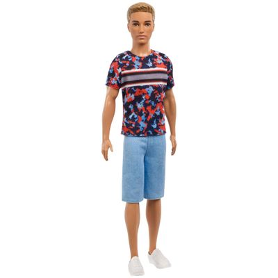 boneco-ken-fashionistas-camiseta-colorida-e-bermuda-azul-mattel-DWK44-FXL65_Frente