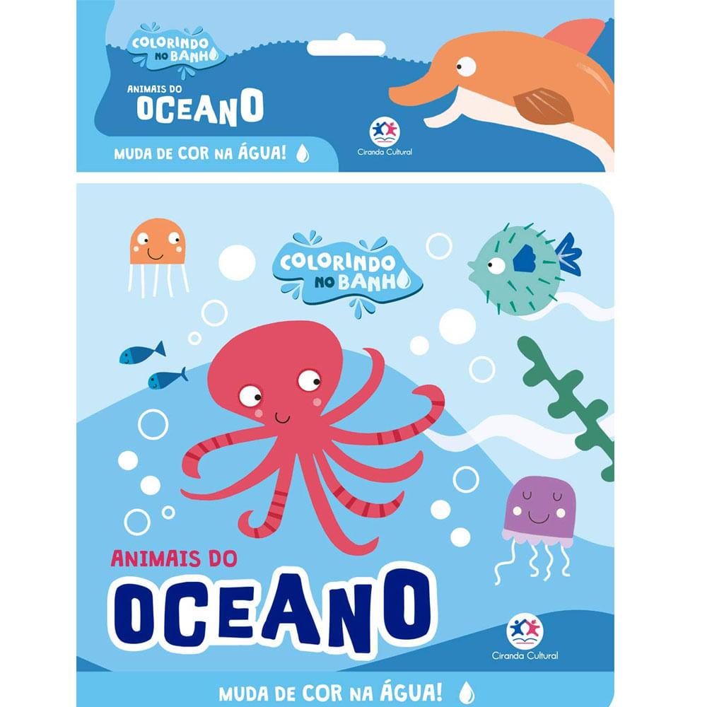 Livro De Banho - Animais Do Oceano - Ciranda Cultural