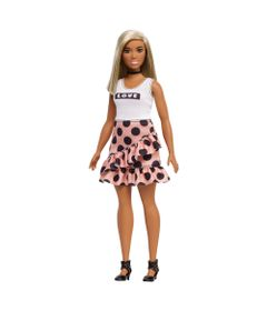 boneca-barbie-fashionista-loira-blusa-branca-e-saia-mattel-FBR37-FXL51_Frente
