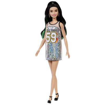 boneca-barbie-fashionista-morena-vestido-brilhante-mattel-FBR37-FXL50_Frente