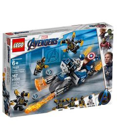 LEGO-Avengers---Disney---Marvel---Ultimato---Capitao-America-Vs-Outrider---76123