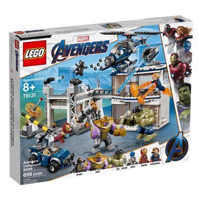 LEGO-Avengers---Disney---Marvel---Ultimato---Combate-no-Quartel-General---76131