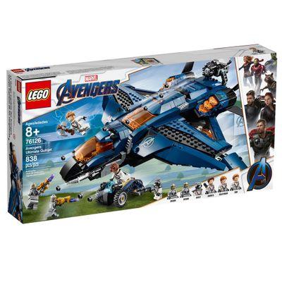 LEGO-Avengers---Disney---Marvel---Ultimato---Quinjet-dos-Vingadores---76126