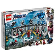 LEGO-Avengers---Disney---Marvel---Ultimato---Salao-de-Armaduras-do-Iron-Man---76125
