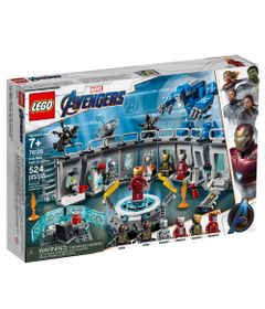 LEGO-Avengers---Disney---Marvel---Ultimato---Salao-de-Armaduras-do-Iron-Man---76125