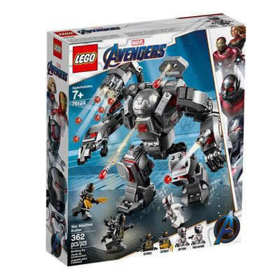 LEGO-Avengers---Disney---Marvel---Ultimato---War-Machine-Buster---76124