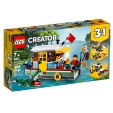 LEGO-Creator---3-em-1---Casa-Flutuante-Riverside---31093