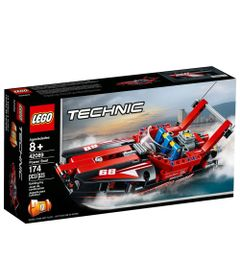 LEGO-Technic---Barco-a-Motor-Potente---42089