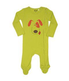 Pijama-Baby---Macacao-Manga-Longa---Dog---Verde---Tip-Top---G