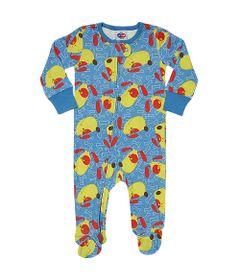 Pijama-Macacao-Baby---Meninos---Estampado---Dog---Azul---Tip-Top---1T