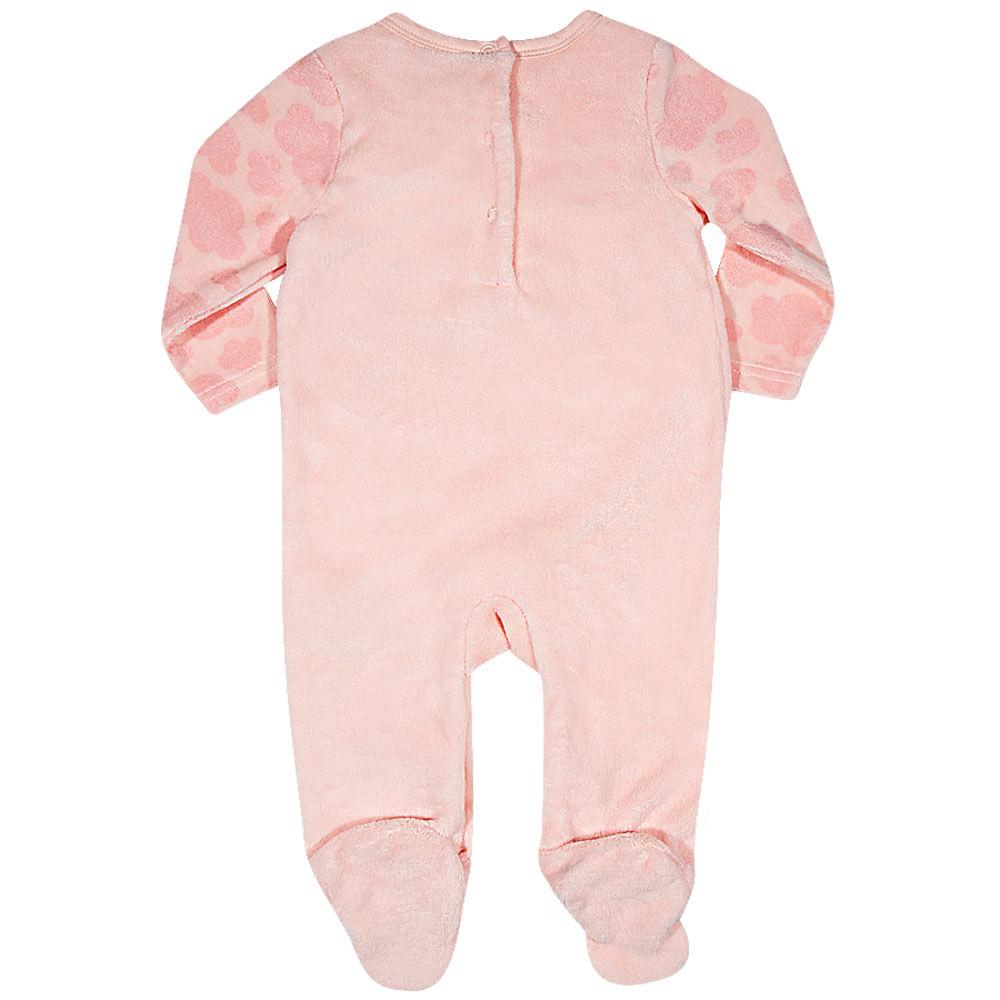Macacão Baby -  Gatinha - Rosa - Tip Top