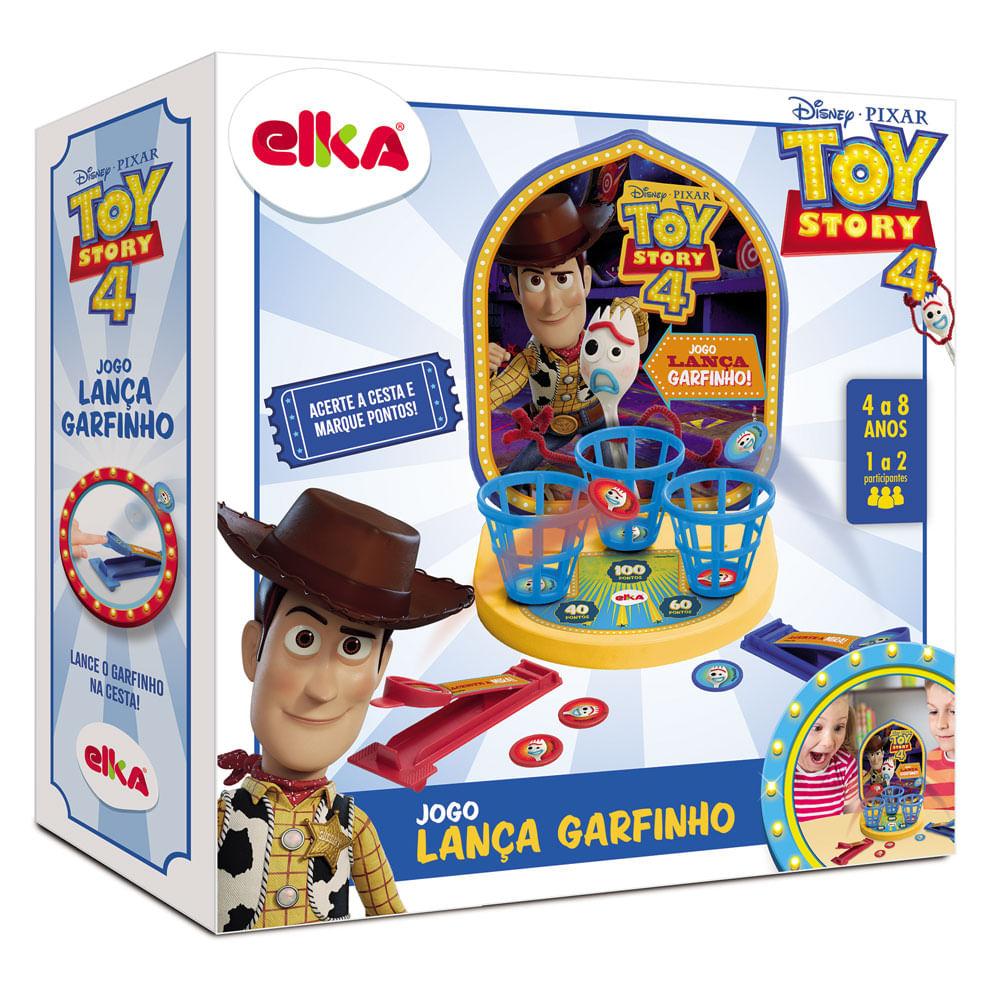 Jogo - Lança Garfinho - Toy Story 4 - Elka