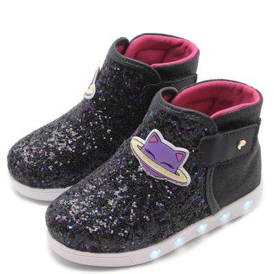 tenis-para-bebes-sneaker-luzes-e-glitter-preto-pampili-165088_frente