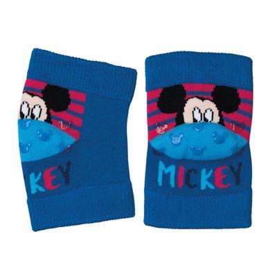 Joelheira-Antiderrapante---Soft-Baby---Mickey-Mouse---Azul---Lupo---13015-004_frente