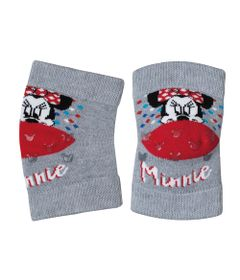 Joelheira-Antiderrapante---Soft-Baby---Minnie-Mouse---Cinza---Lupo---13015-004_frente