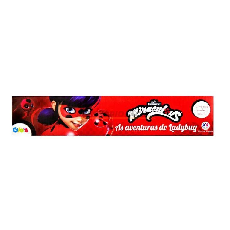 Livro Em Rolo Para Colorir Miraculous Ladybug Ciranda