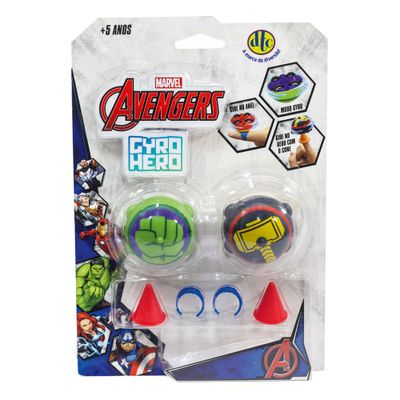 Pioes-de-Batalha---Giro-Hero---Disney---Marvel---Avengers---Hulk-e-Thor---DTC