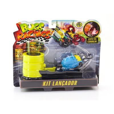 Veiculo-e-Pista-de-Percurso---Bugs-Racing---Lancador---Blast---DTC
